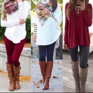 Pants - Control top fleece lined leggings